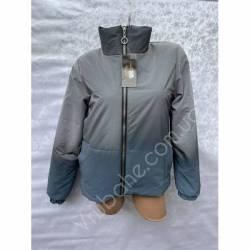 Куртка женская Омбре оптом(42-50)Украина-69270