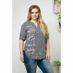 Рубашка женская Батал оптом (52-60) Украина-69960
