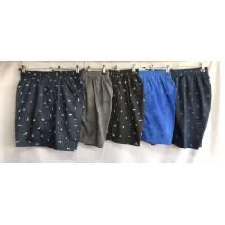 Шорты мужские норма оптом плащёвка есть сетка (XL-5XL) Китай - 72734