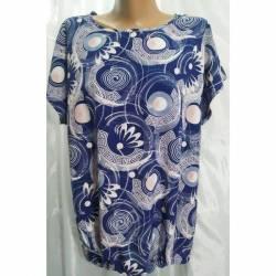 Блуза женская батал оптом (50-58) Софт Украина-72797