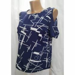 Блуза женская норма оптом (42-48) Софт Украина-72800