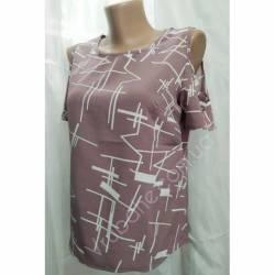 Блуза женская норма оптом (42-48) Софт Украина-72802