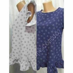 Блуза женская норма оптом (42-48) Софт Украина-72804