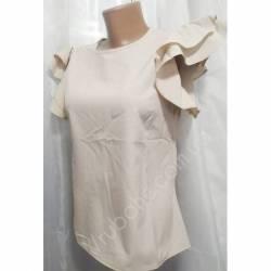 Блуза женская норма оптом (42-48) Софт Украина-72806