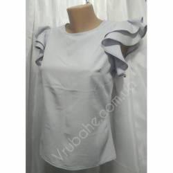Блуза женская норма оптом (42-48) Софт Украина-72807