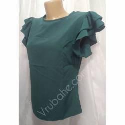 Блуза женская норма оптом (42-48) Софт Украина-72809
