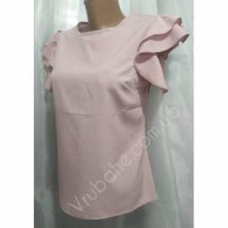 Блуза женская норма оптом (42-48) Софт Украина-72812