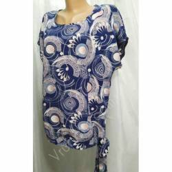 Блуза женская батал оптом (50-58) Софт Украина-72815