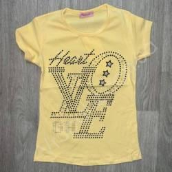 Футболка детская на девочку оптом (7-10 лет) Турция-73584