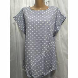 Блуза женская оптом (50-54-58) Софт Украина-74607