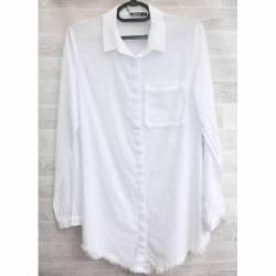 Рубашка женская оптом (S-2XL) Турция-74957