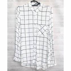 Рубашка женская оптом (S-2XL) Турция-74960