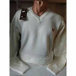 Свитер мужской батал (M-XL) Турция оптом-80473