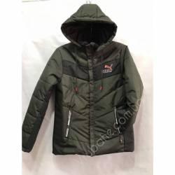 Куртка на мальчика Зима (40-48) Украина оптом -80526