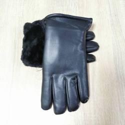 Перчатки мужские кожзам оптом (10,5-12,5)Китай-80566