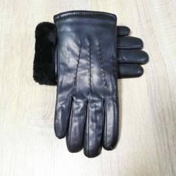 Перчатки мужские кожзам оптом (10,5-12,5)Китай-80568