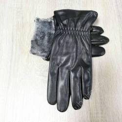 Перчатки мужские кожзам оптом (10,5-12,5)Китай-80569
