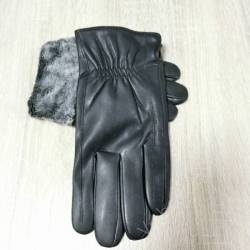 Перчатки мужские кожзам оптом (10,5-12,5)Китай-80570