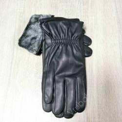 Перчатки мужские кожзам оптом (10,5-12,5)Китай-80571