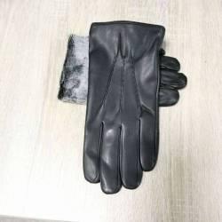 Перчатки мужские кожзам оптом (10,5-12,5)Китай-80572