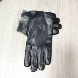 Перчатки мужские кожзам оптом (10,5-12,5)Китай-80573