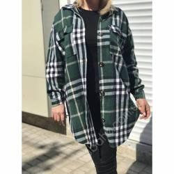 Рубашка женская удлиненая оптом (42-48)Украина 2179-80687