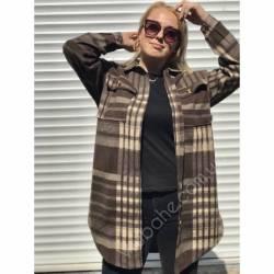 Рубашка женская удлиненая оптом (42-48)Украина 2179-80689