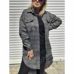 Рубашка женская удлиненая оптом (42-48)Украина 2179-80690