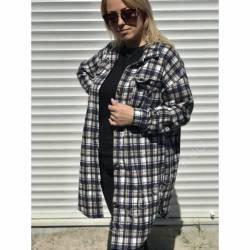 Рубашка женская удлиненая оптом (42-48)Украина 2179-80691