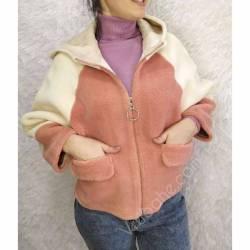 Шубка женская укороченая оптом (46-50)Китай 57082-80774