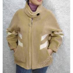 Шубка женская укороченая оптом (46-50)Китай 57081-80778