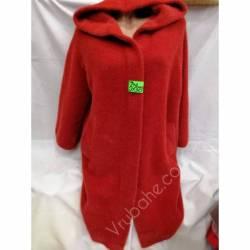 Пальто женское альпака оптом (46-50)Китай 57373-80780