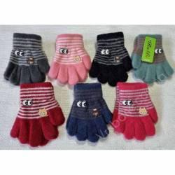 Перчатки детские на девочку оптом (1-2 года)Китай А619-80832