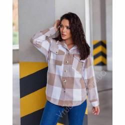 Рубашка женская кашемир оптом (42-48)Украина 1128-80858