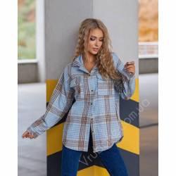 Рубашка женская кашемир оптом (42-48)Украина 1128-80859