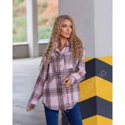 Рубашка женская кашемир оптом (42-48)Украина 1128-80861