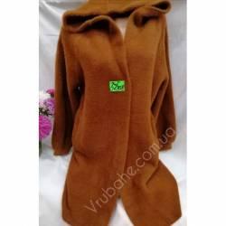 Пальто женское ткань альпака оптом(46-50)Китай 57308-80897