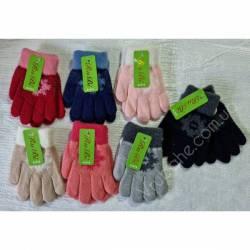 Перчатки детские на девочку оптом(4-6 лет)Китай А615-80914