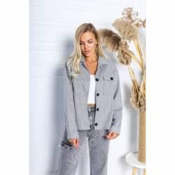 Рубашка-пальто женское оптом (42-48)Украина 2176-80984
