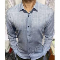 Рубашка мужская Батал Arma оптом (3XL-6XL)Турция-81482