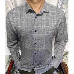 Рубашка мужская Батал Arma оптом (3XL-6XL)Турция-81485