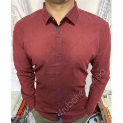 Рубашка мужская Батал Arma оптом (3XL-6XL)Турция-81495