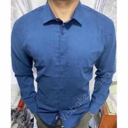 Рубашка мужская Батал Arma оптом (3XL-6XL)Турция-81497