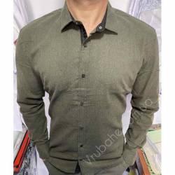 Рубашка мужская Батал Arma оптом (3XL-6XL)Турция-81498