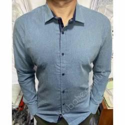 Рубашка мужская Батал Arma оптом (3XL-6XL)Турция-81499