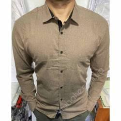Рубашка мужская Батал Arma оптом (3XL-6XL)Турция-81501